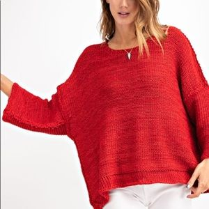 NWT Scarlet Sweater